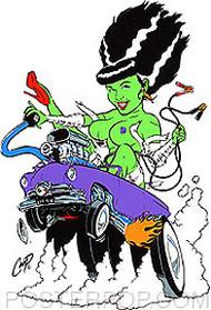 Coop Monster Bride Sticker Image