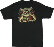 VR33 Vince Ray Skull and Rods T Shirt