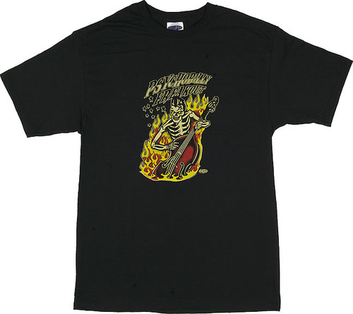 Vince Ray Psychobilly Freakout T-Shirt by Poster Pop