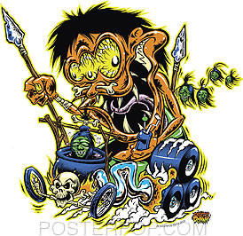 Dirty Donny Headhunter Sticker Image