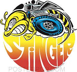 Dirty Donny Stinger Sticker Image