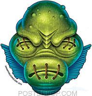 Doug Horne Lagoon Creature Sticker Image