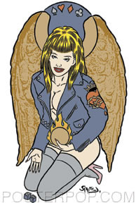 Firehouse Earth Angel Sticker Image