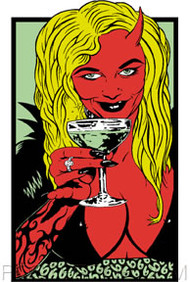 Kozik Cocktail Sticker Image