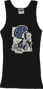 Derek Yaniger Go Cat Go Woman's Boy Beater Tank Top