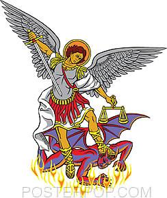 Almera Archangel Sticker Image