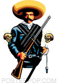 Almera Zapata Sticker Image