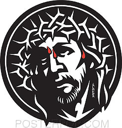 Almera Crown Of Thorns Sticker Image