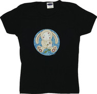Tara McPherson Bunny Kisses Woman's Baby Doll Tee and Tank Clearance