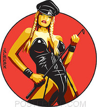 Almera Dominatrix Sticker Image
