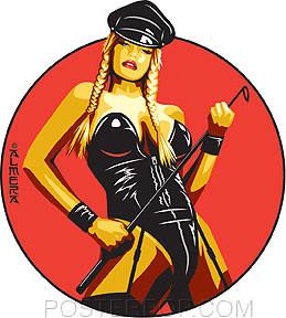 Almera Dominatrix Sticker Image