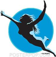 Almera Swimmer Stickers Image