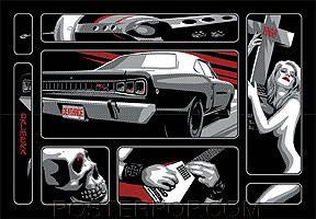 Almera Death Ride Sticker Image