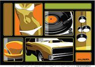 Almera Swingers Lounge Sticker Image