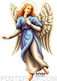 Almera Angel Sarah Sticker Image