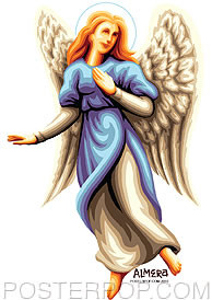 Almera Angel Sarah Sticker Image
