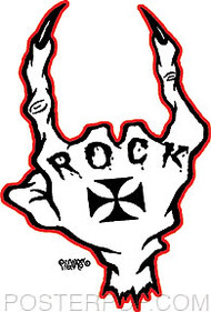 Pigors Rock Sticker Image
