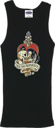 Vince Ray True Necromance Boy Beater Tank Top