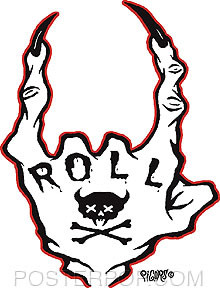Pigors Roll Sticker Image