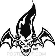 Pigors Bridenbat Sticker Image