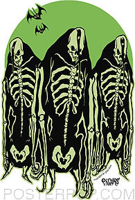 Pigors Misfit Ghouls Sticker Image