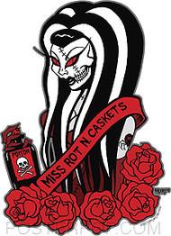 Pigors Beauty Queen Sticker Image