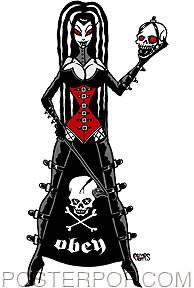 Pigors Obey Mistress Sticker Image