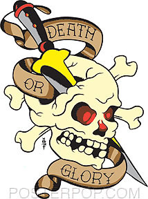 Death Or Glory Sticker Image