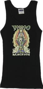 Vince Ray Voodoo Reaction Madonna Skeleton Boy Beater Tank Top