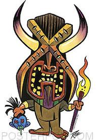 Pizz Headhunter Sticker Image