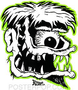 Kruse Ace Fink Sticker Image