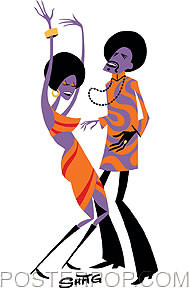 Shag Soul Dancers Sticker Image