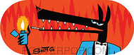 Shag Gigolo Wolf Sticker Image