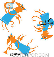 Shag Toga Hell Sticker Image