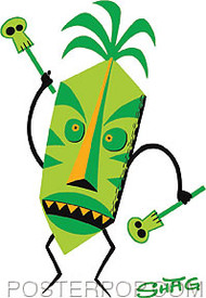 Shag Tiki Doctor Sticker Image