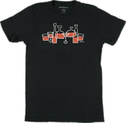 Shag Half Full T Shirt
