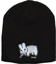 KZB12 Kozik Smokin Bunny Beanie Rarity White Outline