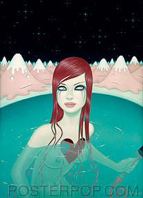 Tara McPherson Weight of Water 2 Sticker Image