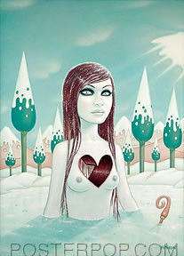 Tara McPherson Weight of Water 3 Sticker Image