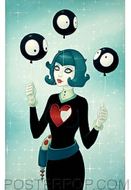 Tara McPherson Evolution of Language Sticker Image