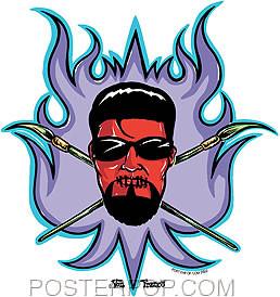 Von Franco Artist Crest Sticker Image