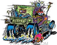 Von Franco Moonshine Man Sticker Image