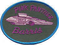 Barris Pink Panther Patch Image