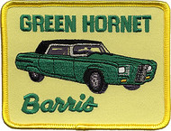 Barris Green Hornet Patch Vintage, Kato, George Barris, Vintage