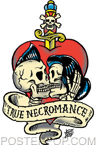 Vince Ray True Necromance Sticker Image