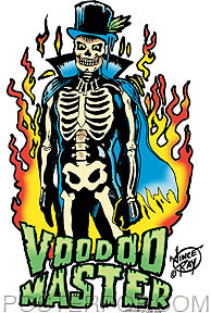 Vince Ray Voodoo Master Sticker Image