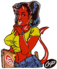Coop School Girl Patch Image