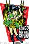 Vince Ray Bongo Beat Girl Sticker Image
