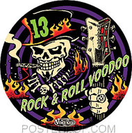 Vince Ray Voodoo 13 Sticker Image