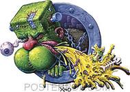 XNO Frankenpuke Sticker image